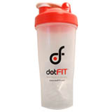 dotFIT Shaker Bottle - Red (28 oz)